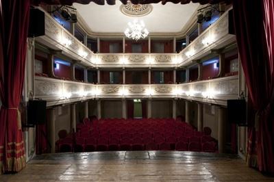 Il teatro visto dal palco